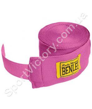 Боксерские бинты Benlee Handwraps розовый