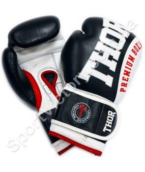 Боксерские перчатки THOR SHARK чёрные