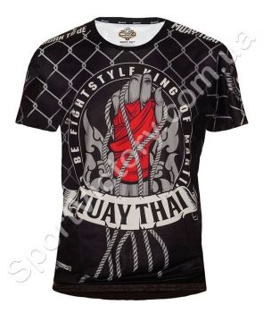 Футболка Born To Be MUAY THAI Black