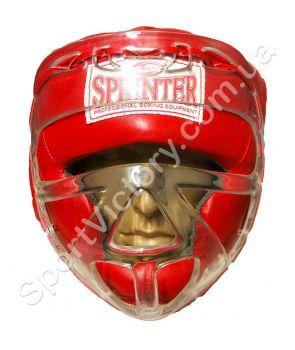 Шлем с маской Sprinter Red