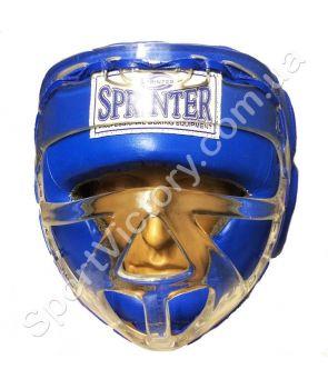 Шлем с маской Sprinter Blue