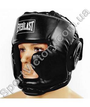 Шлем боксерский Everlast Black