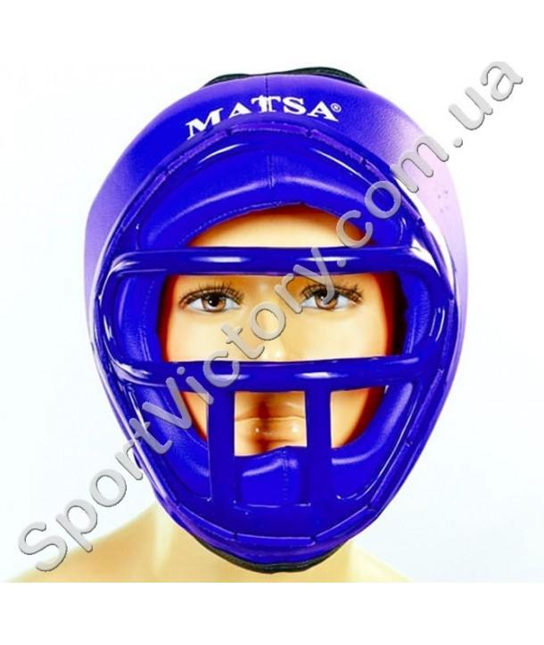 Шлем боксерский с решеткой