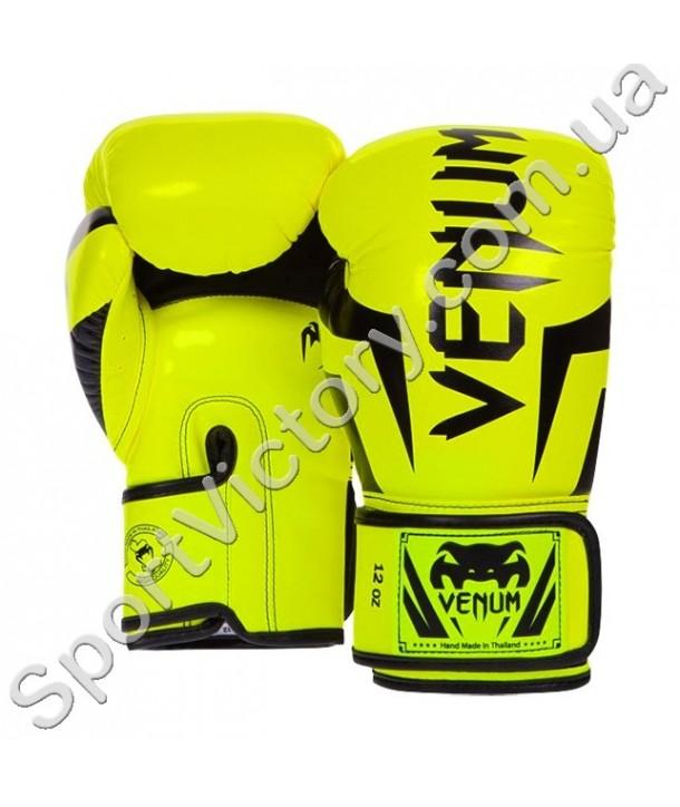 Боксерские перчатки Venum Yellow